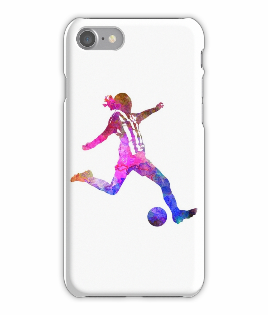 Football player on laptop clipart png freeuse stock Girl Playing Soccer Football Player Silhouette Iphone - Girl Playing ... png freeuse stock