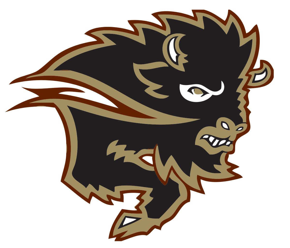 Football player running through defence clipart svg free library Manitoba Bisons - Wikipedia svg free library