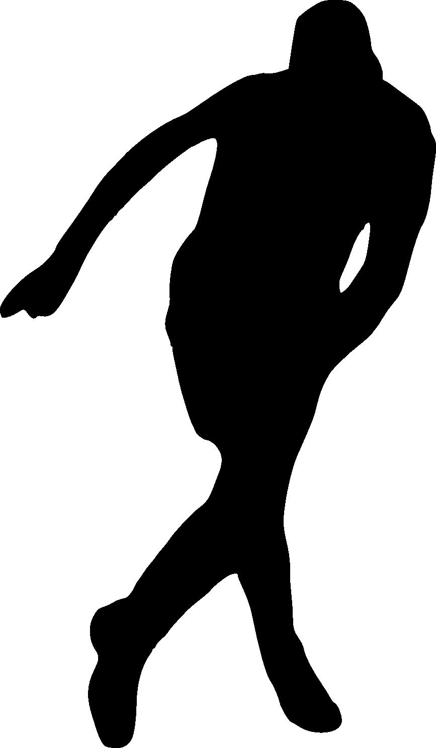 Football player silhouette clipart jpg library 24 Football Player Silhouette (PNG Transparent)   OnlyGFX.com jpg library