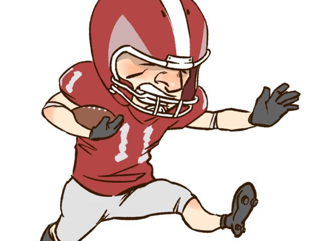 Football players clipart svg stock Football Players Clipart 18 - 323 X 603 | carwad.net svg stock