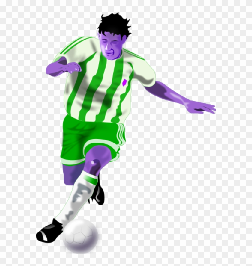 Football players cliparts. Futbolista soccer player clipart