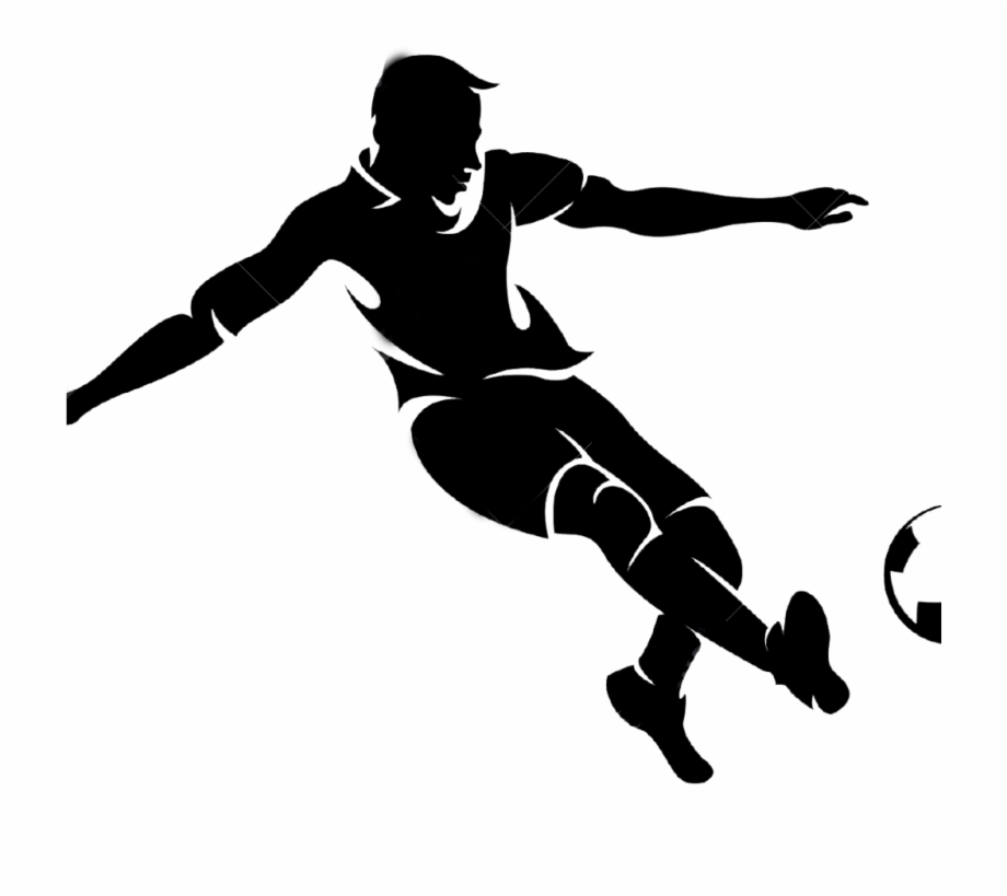 Football players cliparts. Player clipart png transparent