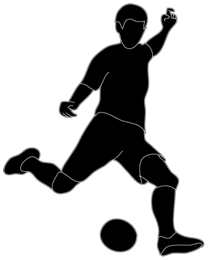 clipart clipartlook. Football players cliparts