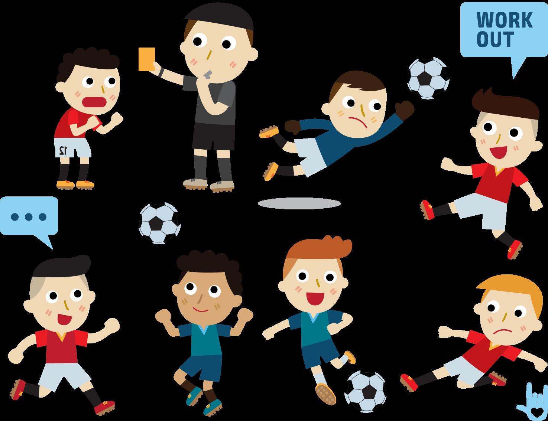 Referee football clipart png library download Cartoon Referee Illustration - Football sunshine boy 1475*1134 ... png library download