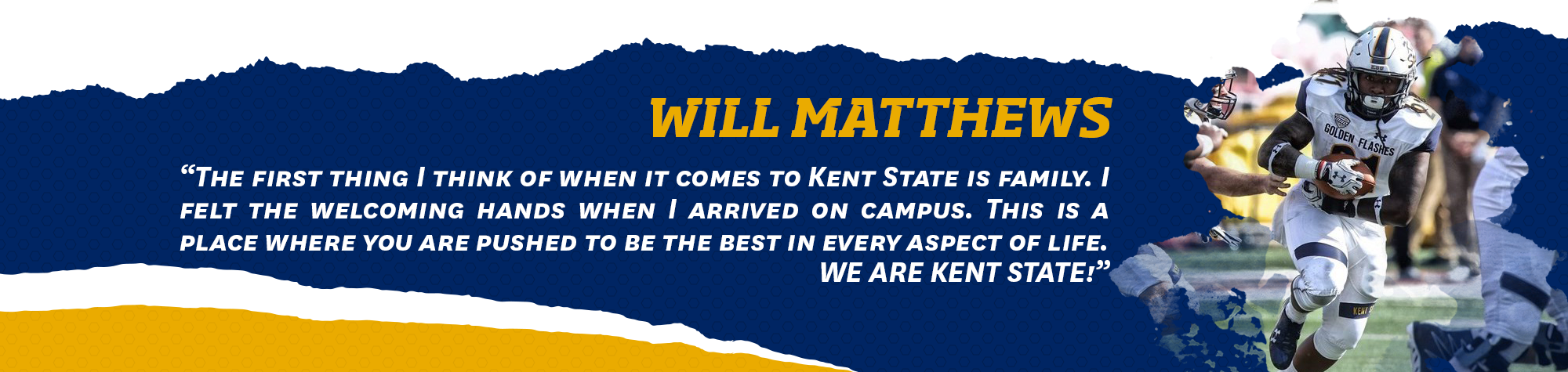 Football roster list clipart banner royalty free download Nathan Puthoff - 2017 Football Roster - Kent State University banner royalty free download