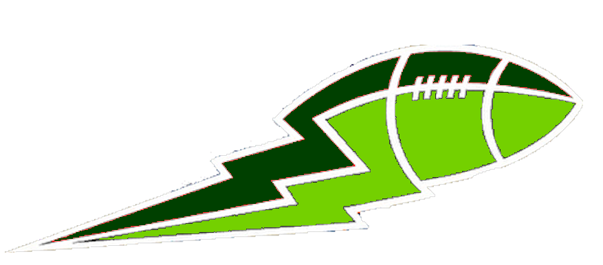 Football routes clipart transparent vector freeuse library Lime Green And Green Football Lightning Big | Free Images at Clker ... vector freeuse library