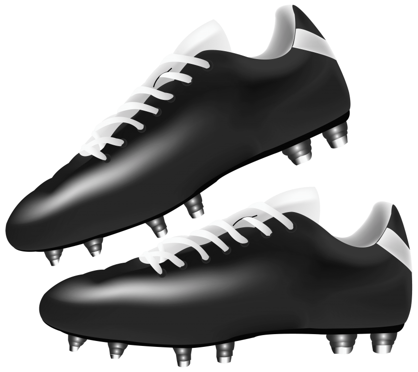 Football snake man clipart graphic library stock black football boots png - Free PNG Images | TOPpng graphic library stock