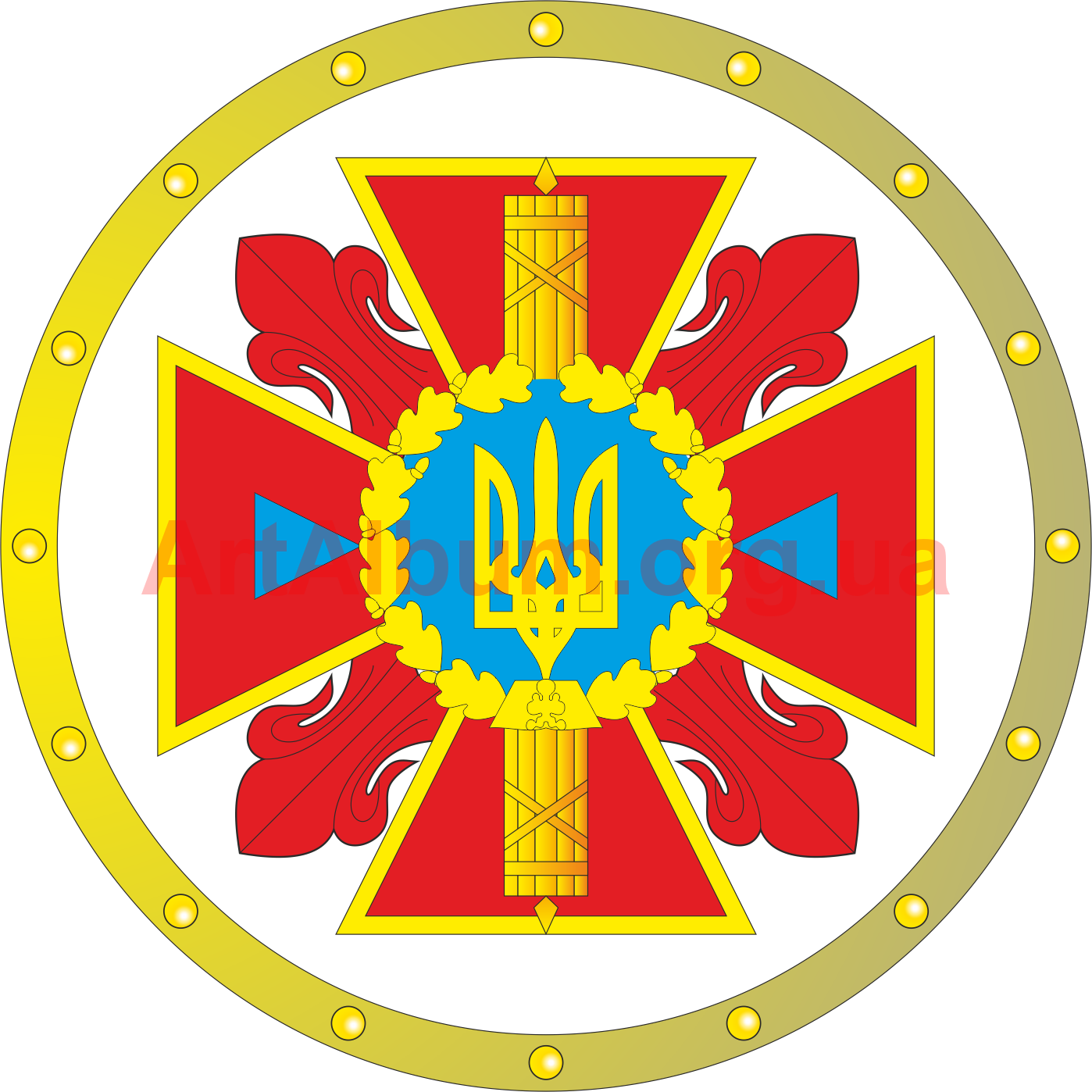 Football snake man clipart picture library library emblem of Ministry of Emergency Situations of Ukraine - vector ... picture library library