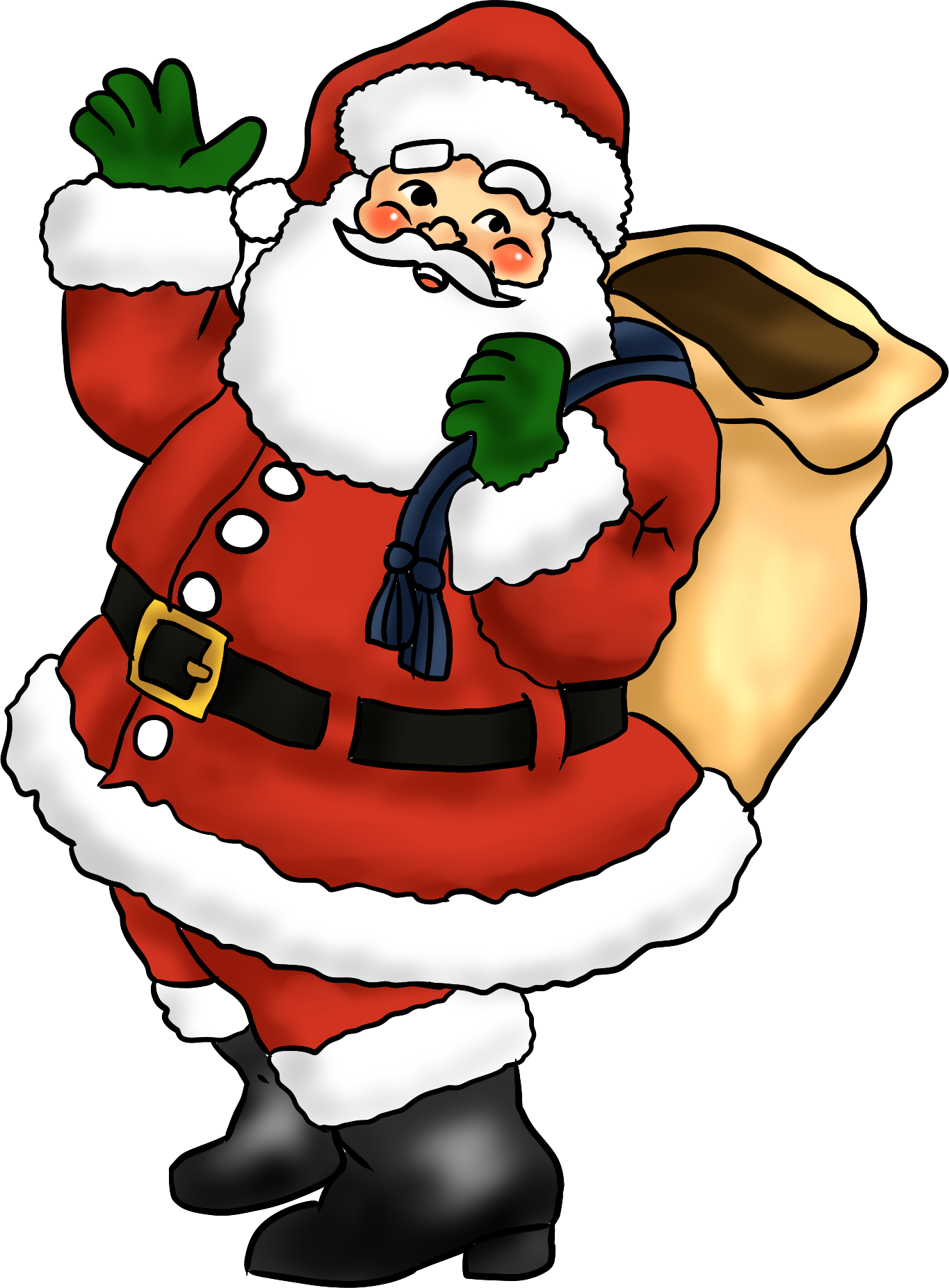 Santa reading a book clipart black and white library 2016 - Newsletter 42 - Come Meet Santa at the Greenhouse this ... black and white library