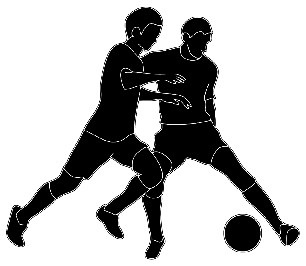 Football shadow clipart graphic free download silhouette of people soccer | VBS 2018 | Pinterest | Silhouettes and ... graphic free download