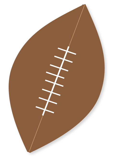 Football shape clipart graphic library library Free Small Football Cliparts, Download Free Clip Art, Free Clip Art ... graphic library library