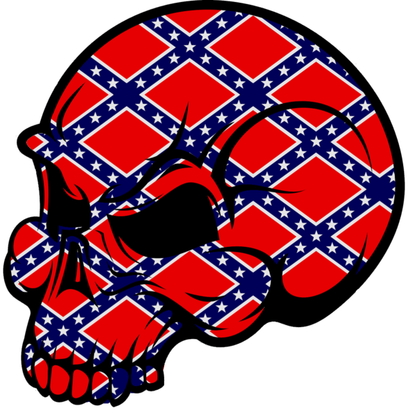 Football skull clipart picture library download Dixieland Skull | Free Images at Clker.com - vector clip art online ... picture library download