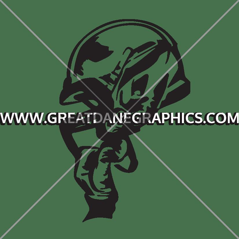 Football skull clipart clip transparent Football New Helmet   Production Ready Artwork for T-Shirt Printing clip transparent