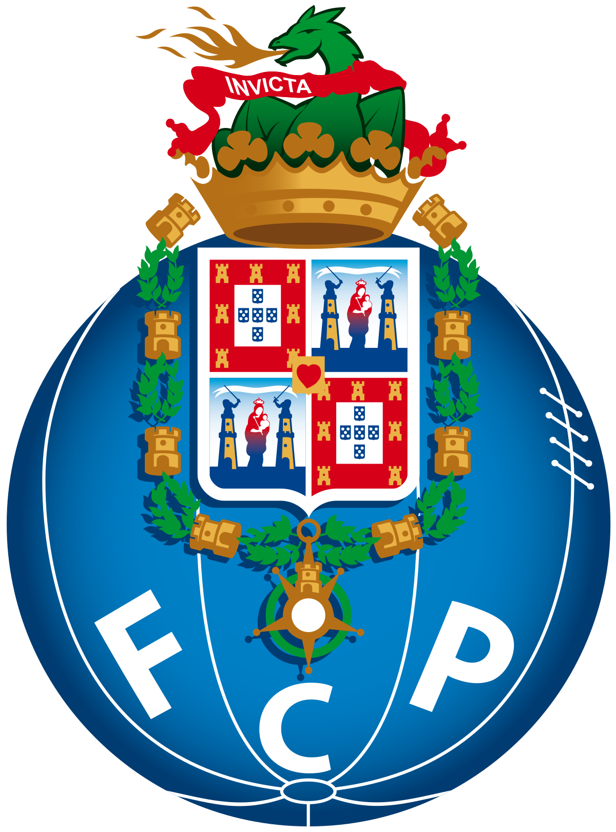 Football stadium crowd clipart vector freeuse library FC Porto - Wikipedia vector freeuse library