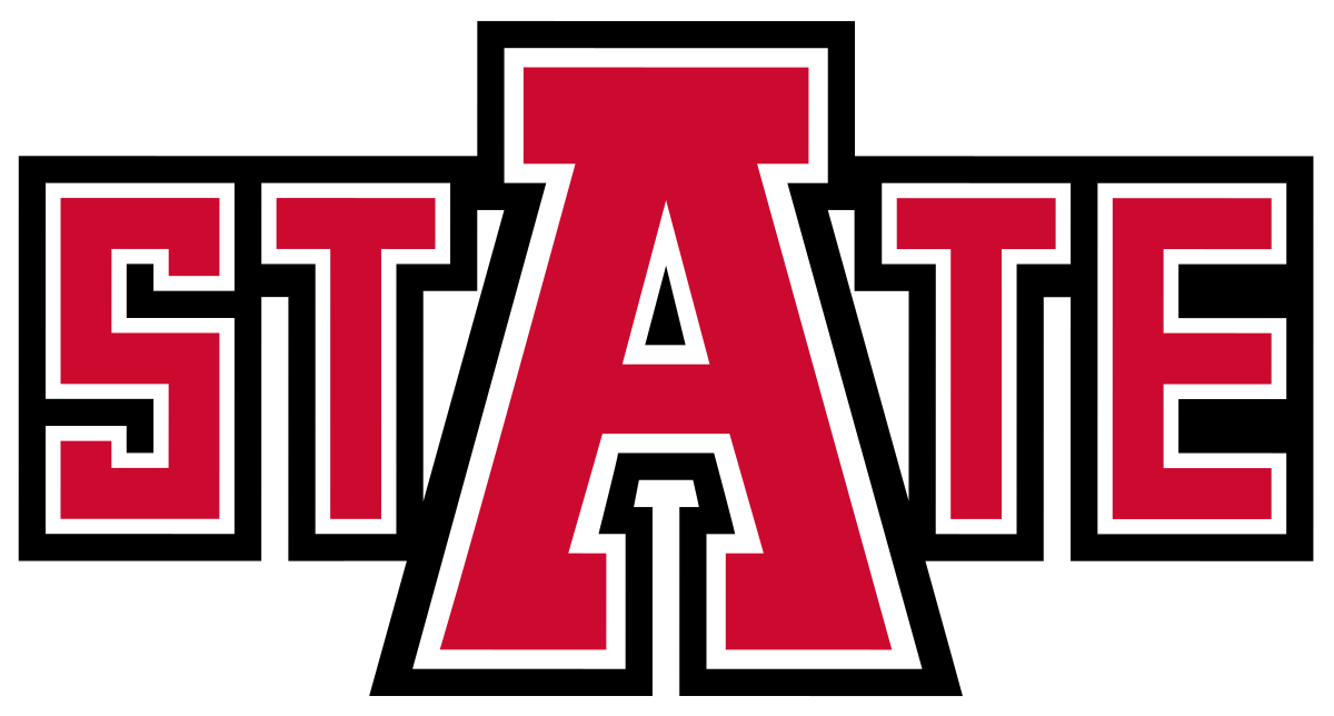 Wolves clipart football image black and white Arkansas State Red Wolves football statistical leaders - Wikipedia image black and white