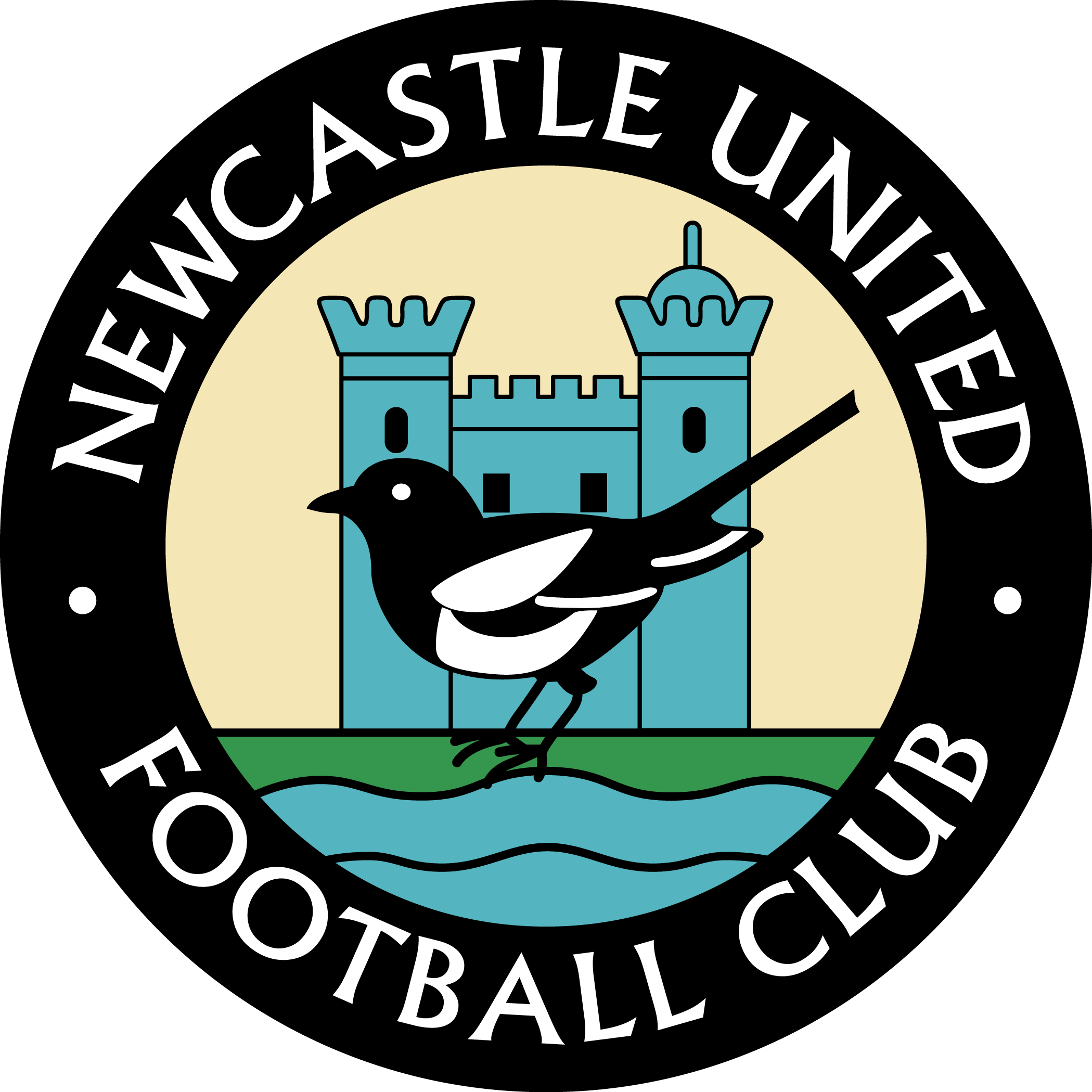 Football stitches and stripes clipart clipart royalty free stock Newcastle United | Soccer Logos / Crest | Pinterest | Newcastle ... clipart royalty free stock