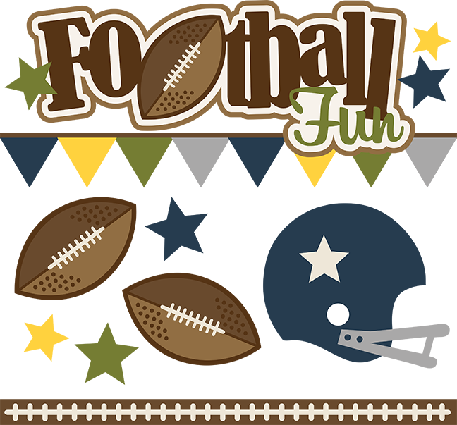Football svg mom clipart banner free Football Fun - SVG Scrapbooking files for cutting | Cuttable ... banner free