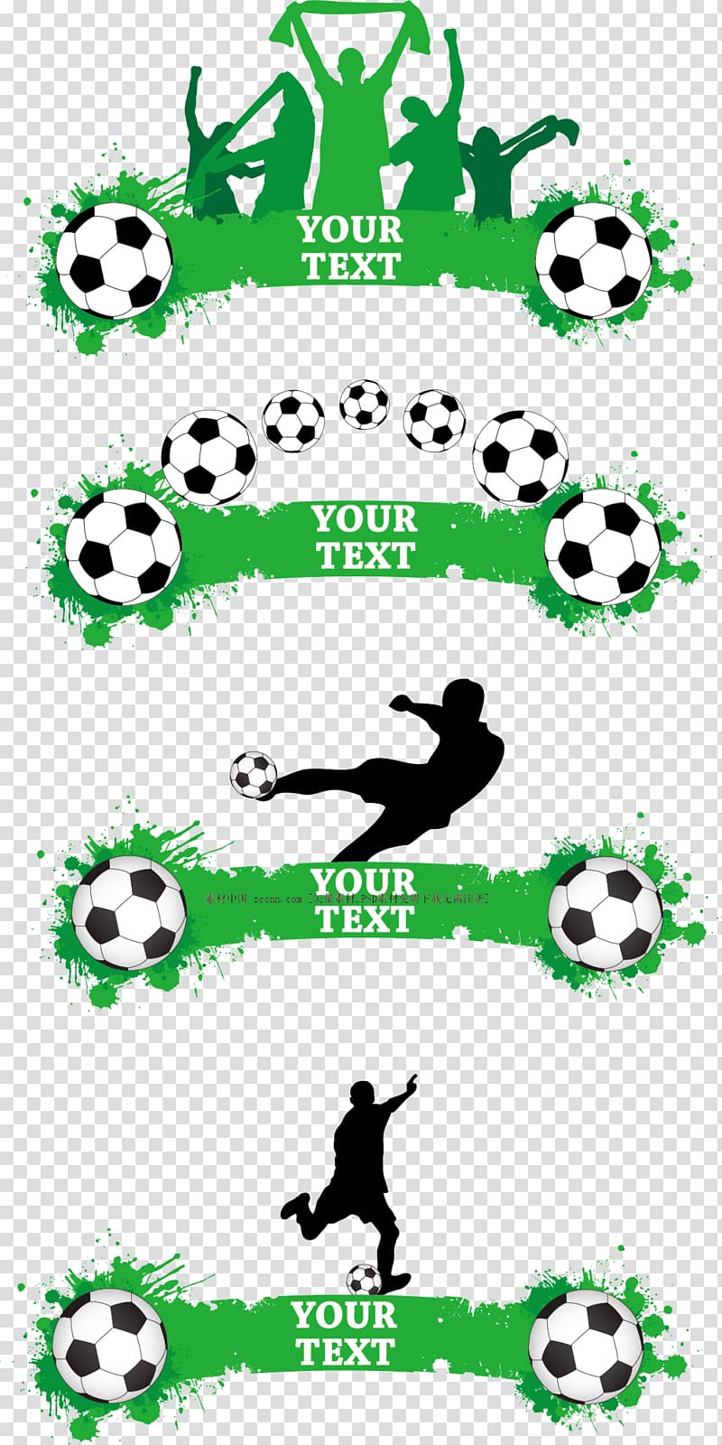 Football theme clipart jpg freeuse library Football Banner, Football theme banner , soccer ball illustration ... jpg freeuse library