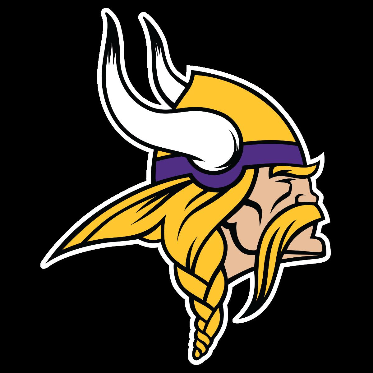 Football viking clipart clip royalty free download Minnesota Vikings Logo transparent PNG - StickPNG clip royalty free download