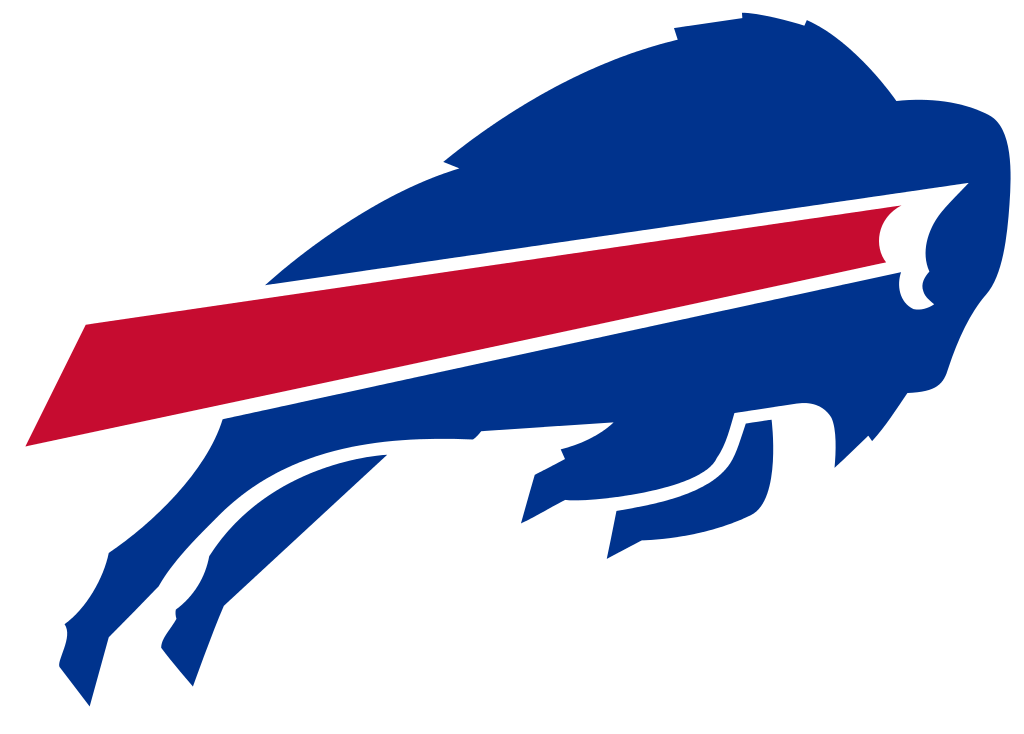 Football with all nfl teams clipart banner freeuse stock Pro Football Journal: Buffalo Bills All Career-Year Team banner freeuse stock