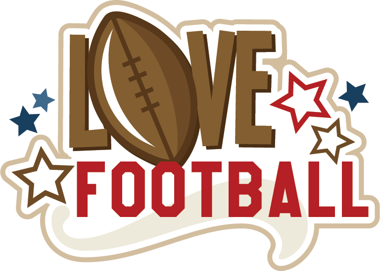Love football clipart clip art royalty free download Love Football SVG scrapbook title football svg file free svgs free ... clip art royalty free download