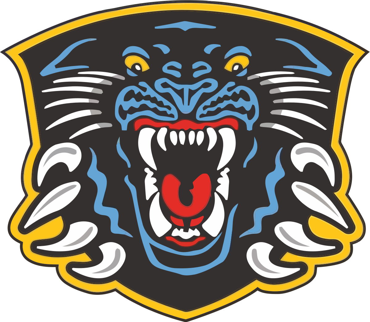 Football yeti clipart clipart transparent Nottingham Panthers - Wikipedia clipart transparent