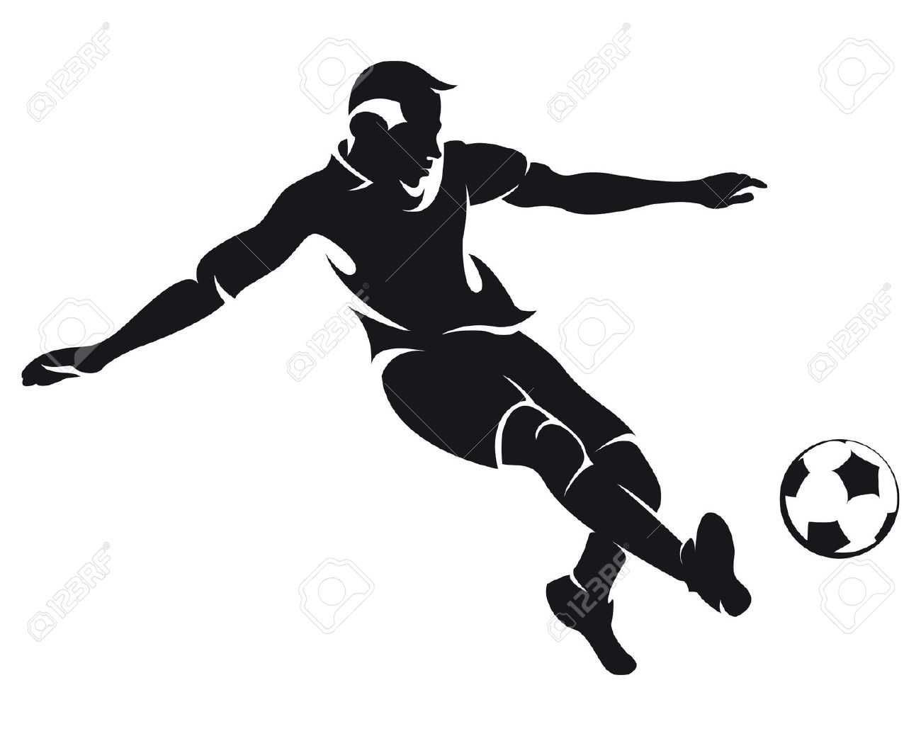 Footbawler clipart clipart free download 103+ Football Players Clipart | ClipartLook clipart free download