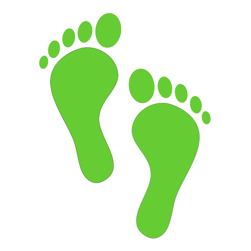 Footprint heart clipart png free library Footprints In The Sand Clipart at GetDrawings.com | Free for ... png free library