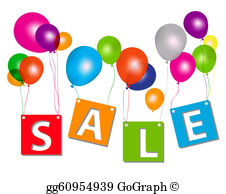 Sale clipart free clipart royalty free Sale Clip Art - Royalty Free - GoGraph clipart royalty free