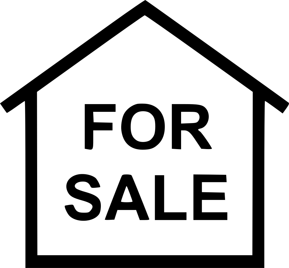 For sale house png clipart image freeuse For Sale House Svg Png Icon Free Download (#450210) - OnlineWebFonts.COM image freeuse