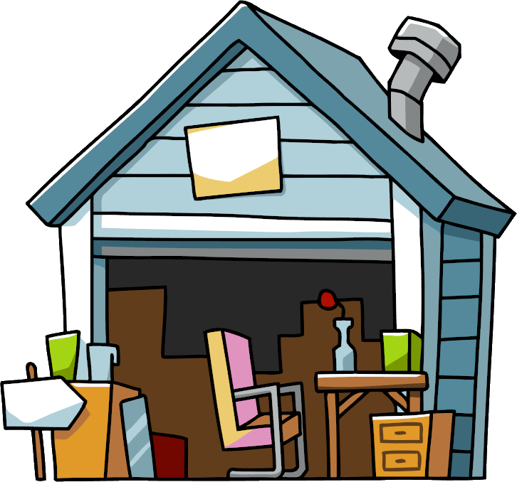 For sale house png clipart clip transparent stock Image - Garage Sale.png | Scribblenauts Wiki | FANDOM powered by Wikia clip transparent stock
