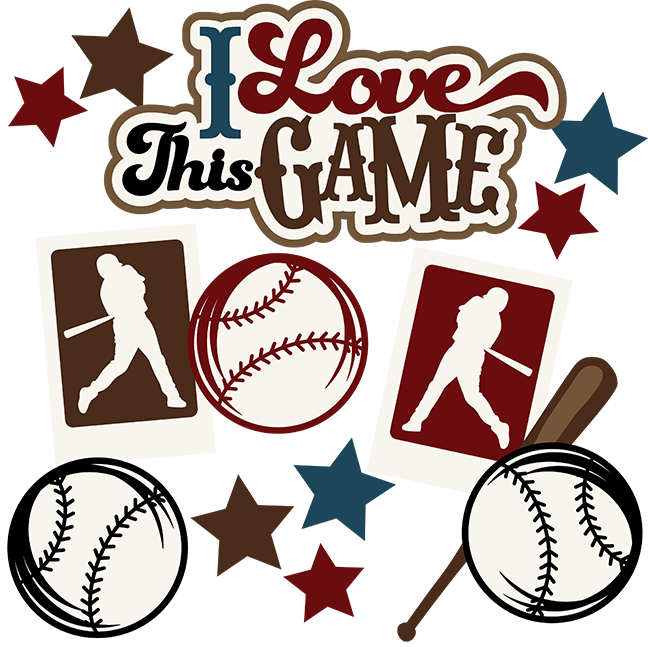For the love of the game clipart. I this svg scrapbook