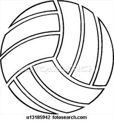 Free printable volleyball clip. For the love of the game clipart
