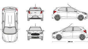 Ford figo clipart. Mr