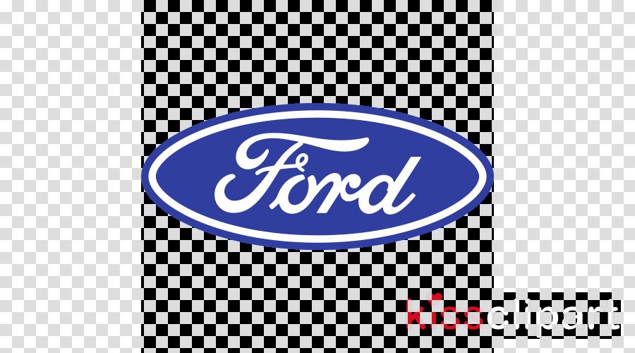 Ford logo clipart. Car sticker blue transparent