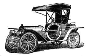 T antique car curious. Ford model a clipart