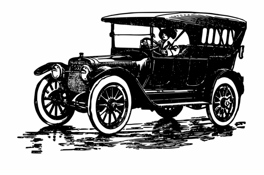 Automobile page t free. Ford model a clipart