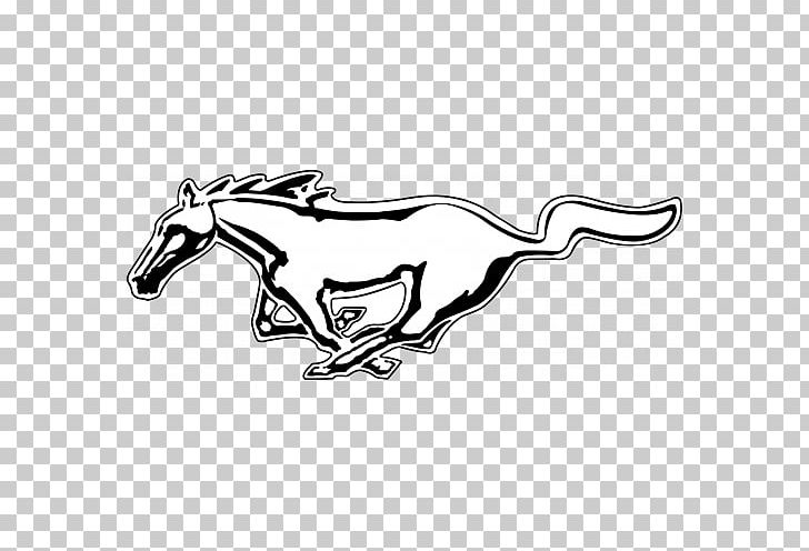 Ford mustang clipart black and white jpg transparent download 2009 Ford Mustang Car Logo Decal PNG, Clipart, Black, Black And ... jpg transparent download