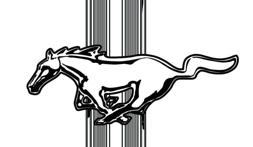 Ford mustang logo clipart free picture free library Ford Mustang Logo Clipart - Free Clipart picture free library