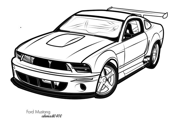 Ford mustang shelby clipart. Free logo vector download