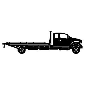 Ford on tow truck clipart black and white png stock tow truck clip art   tow truck 2   Random   Flatbed towing, Truck ... png stock