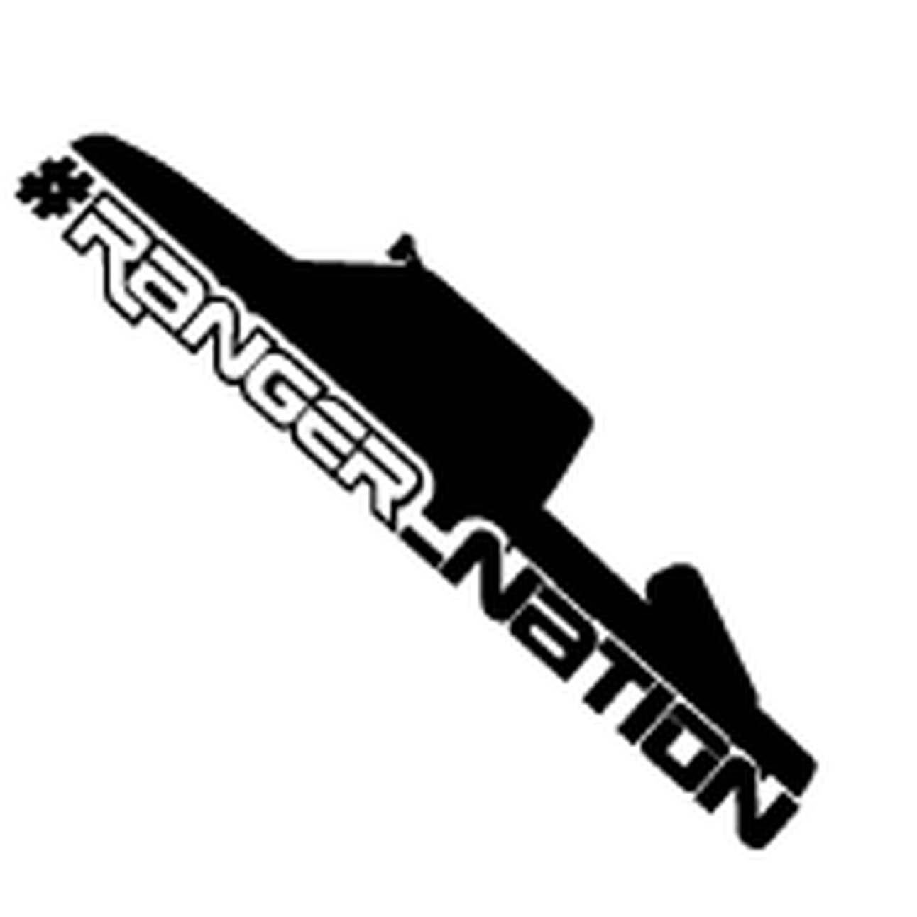 Nation decal . Ford ranger logo clipart
