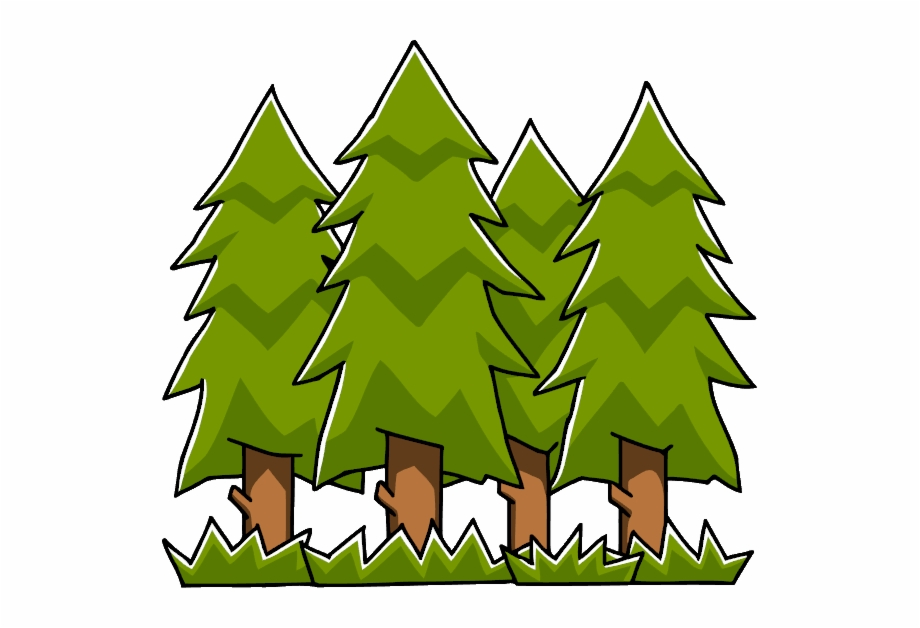 Foreat clipart png transparent Forest Clipart Evergreen Tree - Forest Clipart Transparent ... png transparent