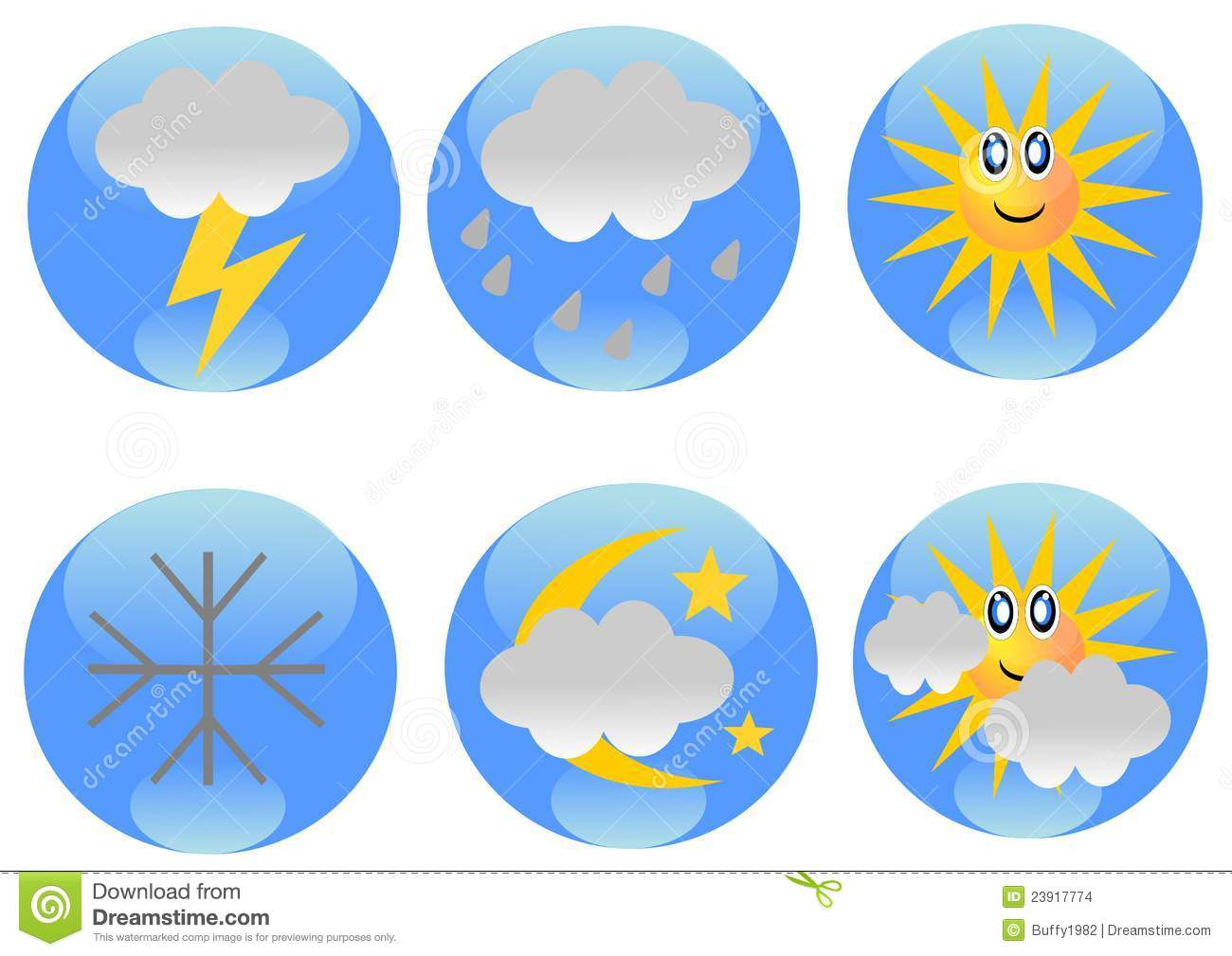 Weather conditions clipart jpg royalty free download Weather forecast icons | Clipart Panda - Free Clipart Images jpg royalty free download