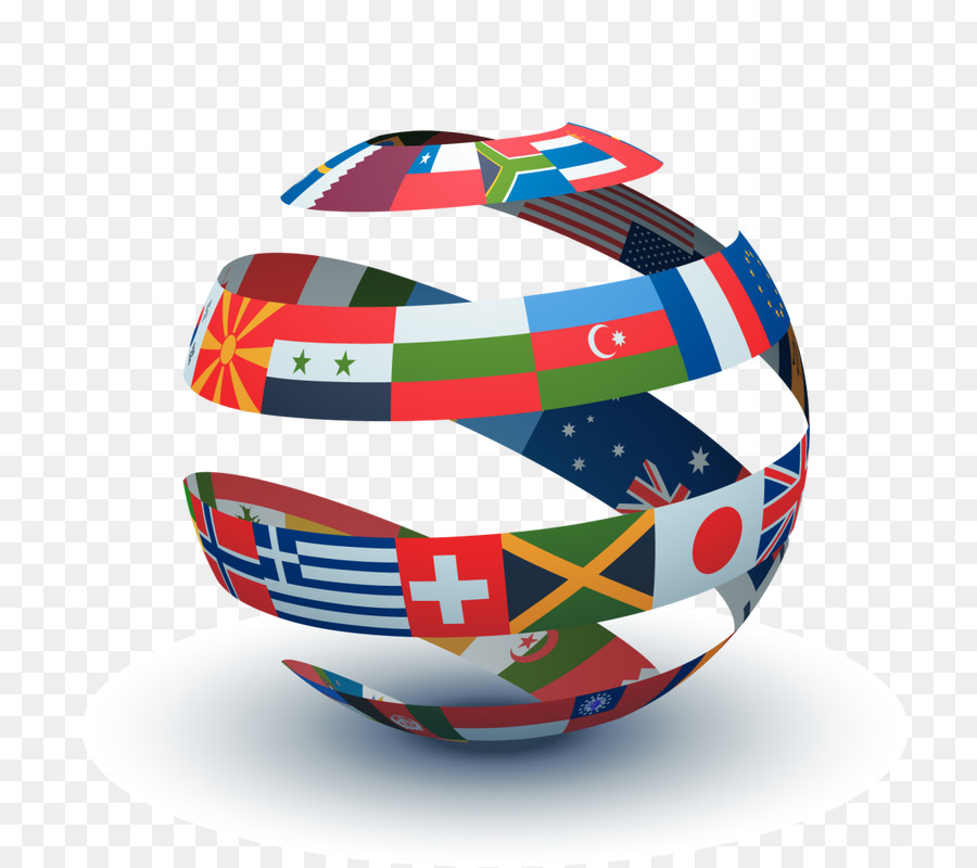 Business background company ball. Foreign clipart