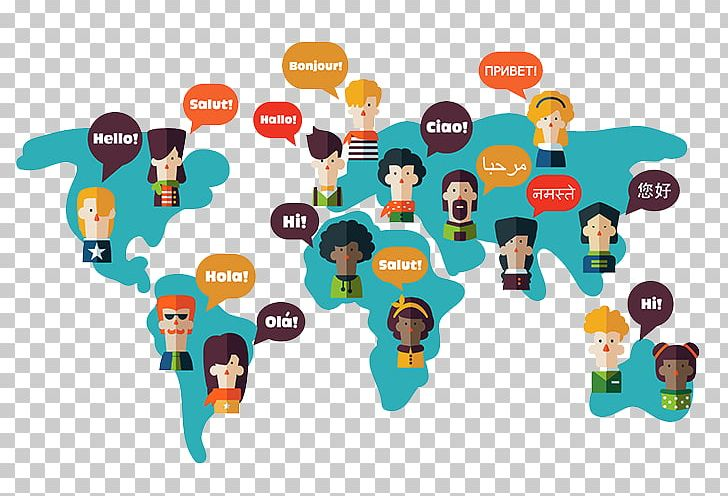 Foreign clipart. World language translation multilingualism