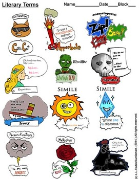 Foreshadowing clipart clipart free library Foreshadowing Clipart Worksheets & Teaching Resources | TpT clipart free library