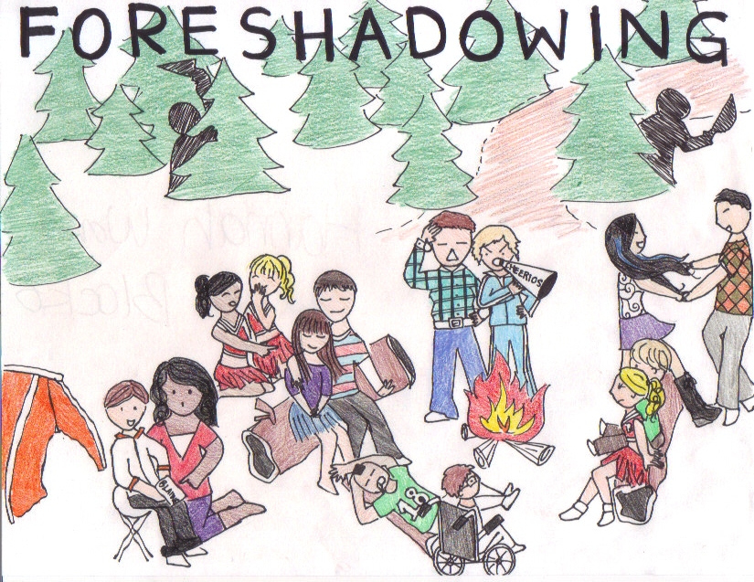 Foreshadowing clipart graphic free stock foreshadowing. LOOOOOOK | Mr. Turner\'s English graphic free stock