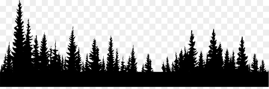 Forest black and white clipart clip free download Forest Png Black And White & Free Forest Black And White.png ... clip free download