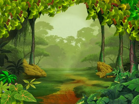 Forest cartoon clipart. Free animated cliparts download